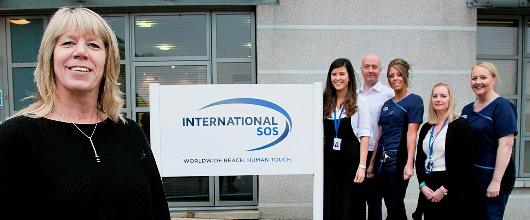 International SOS social committee raises over £1,100 for